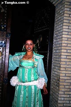 Tunisie- costume traditionnel