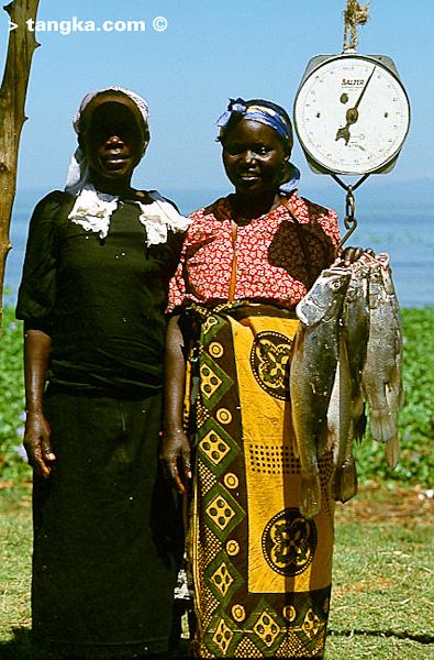 Ventes de poissons - Kenya © Tangka