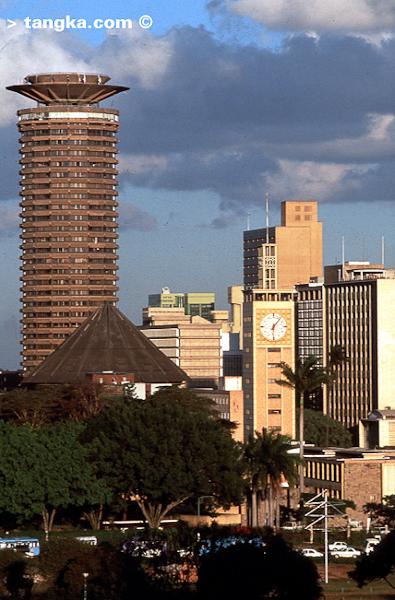 Nairobi - Kenya - Tour du Kenyatta International Conference center © Tangka