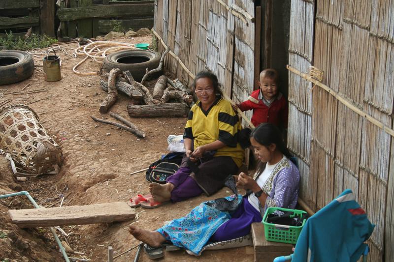 Tribu Hmong - Thailande