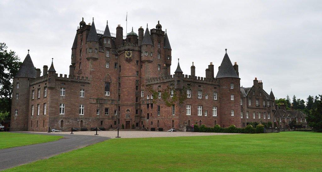 Glamis Castle, comté d'Angus, Ecosse,Grande-Bretagne, Royaume-Uni.