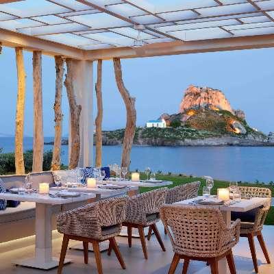 Restaurant Ouzo, Ikos Aria Hotel, Kos, Grèce