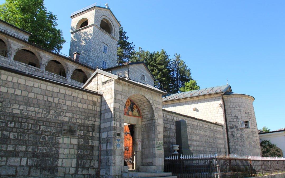 Le centre : Cetinje