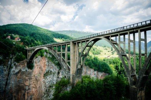 Pont de Pljevlja Monténégro
