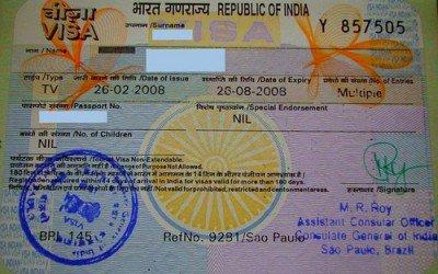 Le nouveau visa electronique en Inde