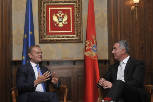 President Tusk visits Montenegro Milo Djukanović Prime Minister