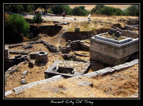 Cité historique de Troie - Turquie