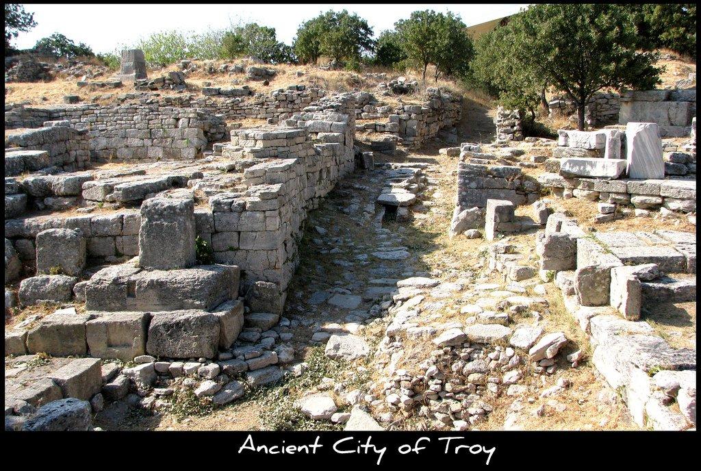 Turquie : le site archéologique de Troie