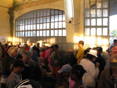 Station de train de Manakara, Madagascar