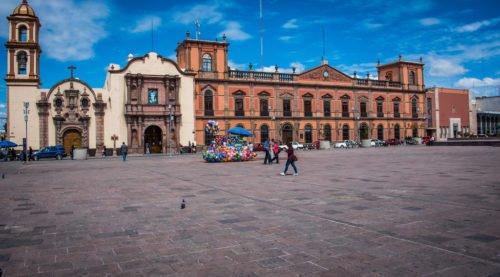 Mexico - San Luis Potosi - Plaza Fundadores