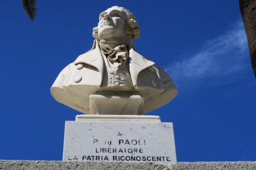 Corse - L'Ile Rousse - Pascal Paoli