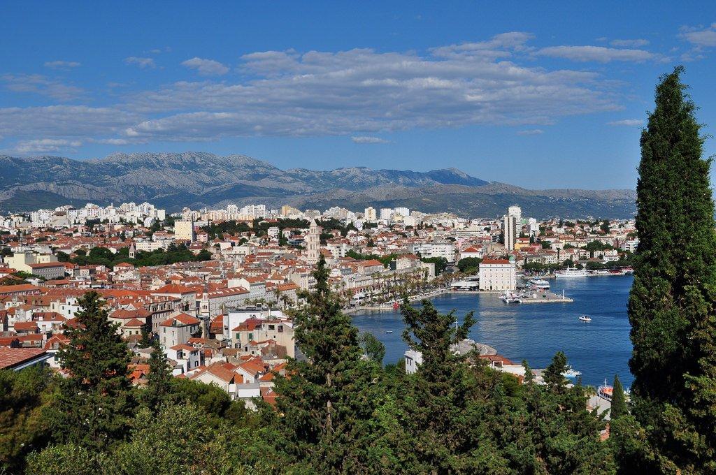 Split, comitat de Split-Dalmatie, Croatie.