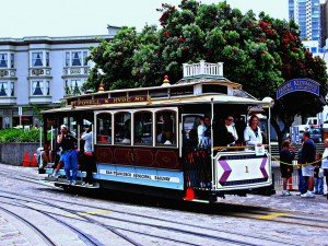 The Touristic Mood @ San Francisco's Famed Cable Cars