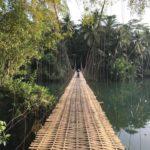 Bamboo Bridge, Indonésie