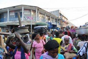Le grand marché de Lomé - Togo