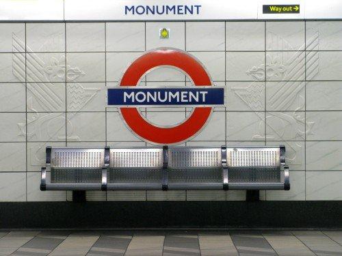 London Tube Station - Monument