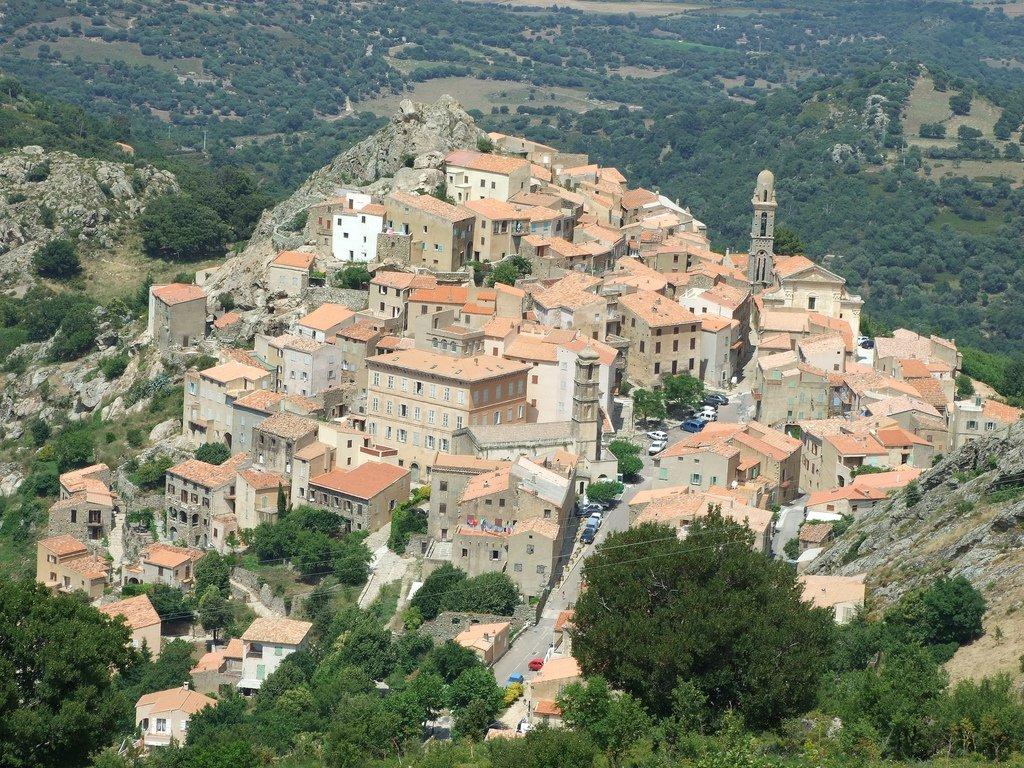 Balagne-Rundfahrt Speloncato und Monte Tolu