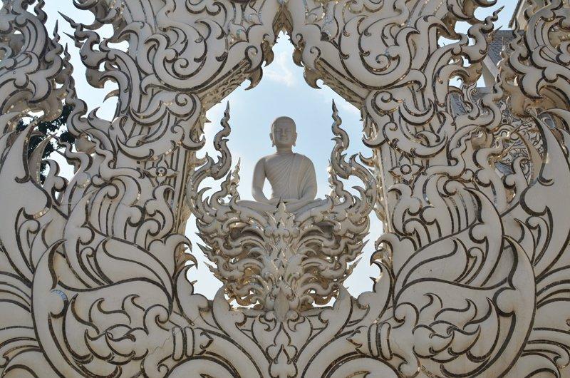 Wat Rong Khun, le temple majestueux