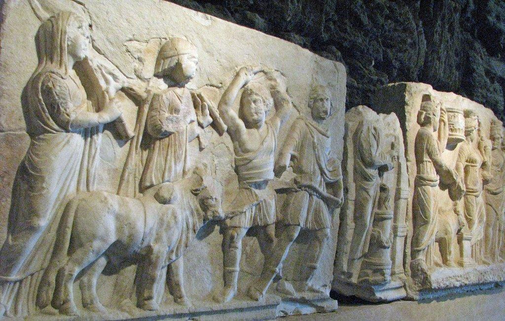 Pamukkale ou la cité antique de Hiérapolis, Turquie