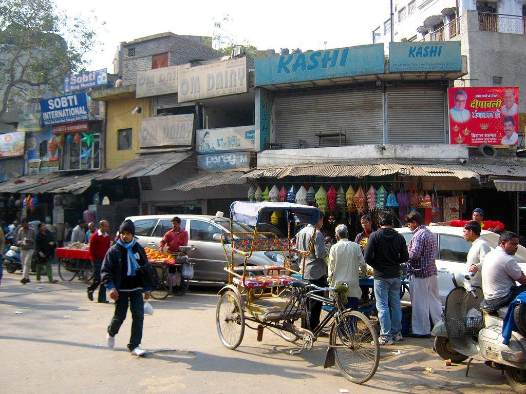 Récit de voyage à Delhi, Inde