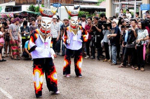Phi Ta Khon Dance - Thailande