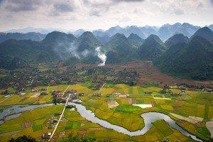 Mùa lúa chín  Bắc sơn - Lạng sơn - Việt nam