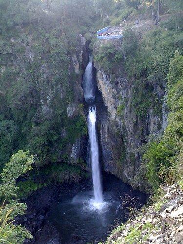 Texolo Waterfall