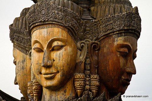 Thaïlande : Le Sanctuaire de la Vérité de Pattaya
