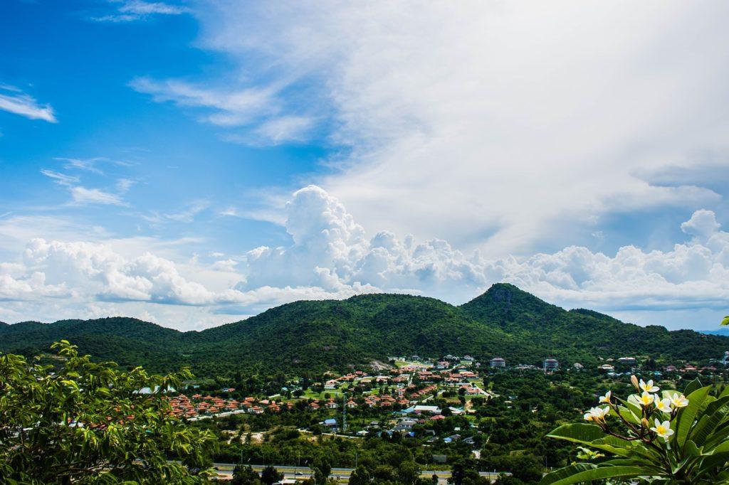 Doi, Inthanon, Thailande