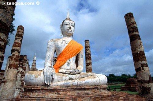 Sukhothai - Ruines - Bouddha