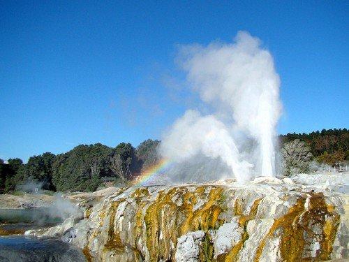 Les geysers de Rotorua