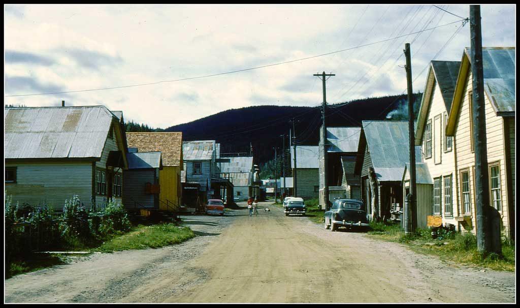 Barkerville en 1961 - Canada