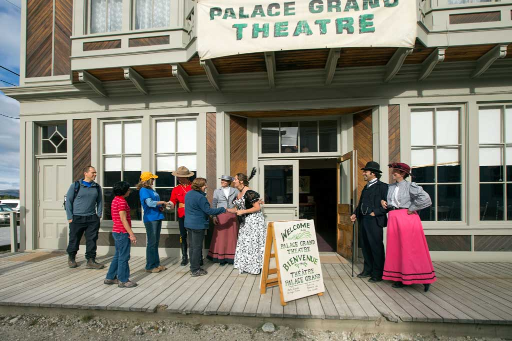 historiques nationaux du Klondike - Canada