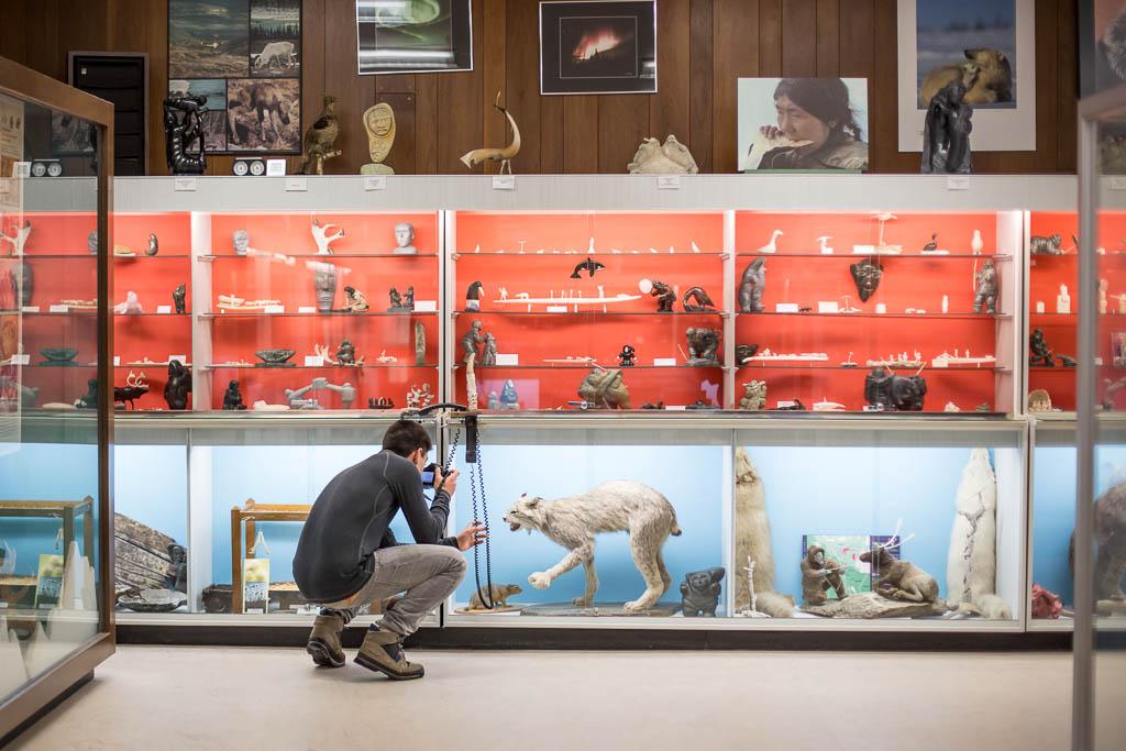 Eskimo Museum - Churchill, Manitoba, Canada