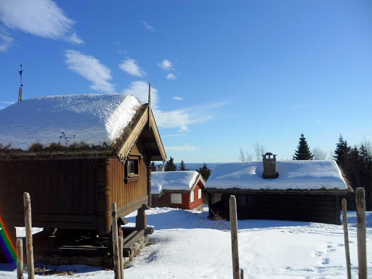 Cabanes osloites, Norvège
