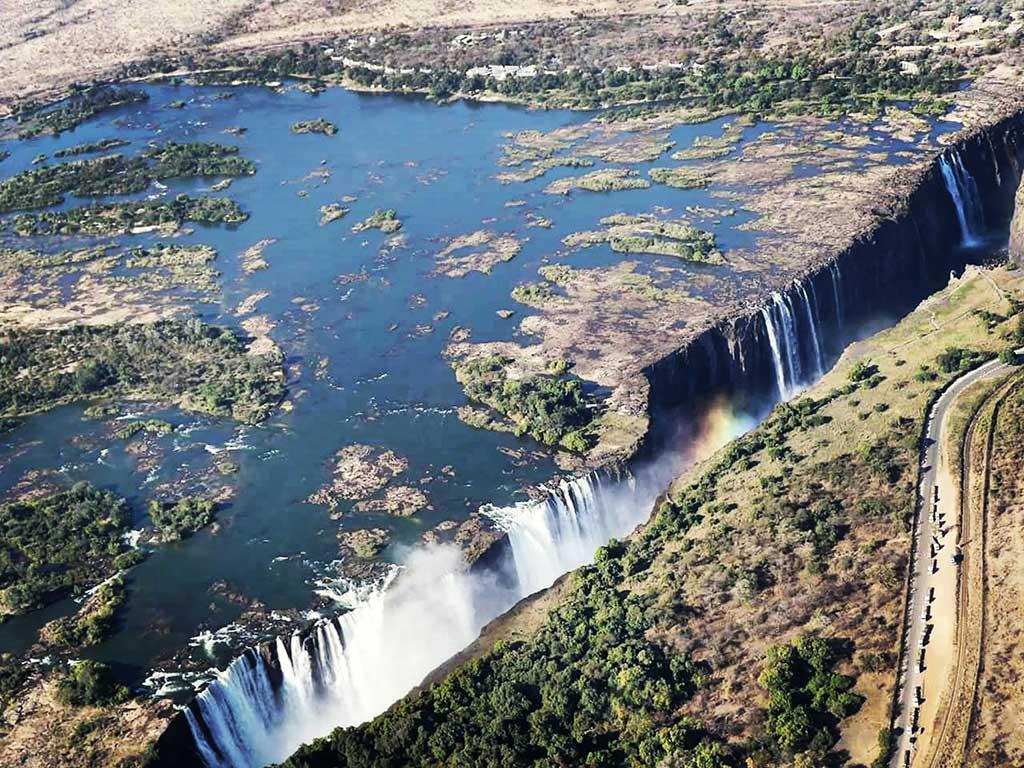 Chutes Victoria – Zambie