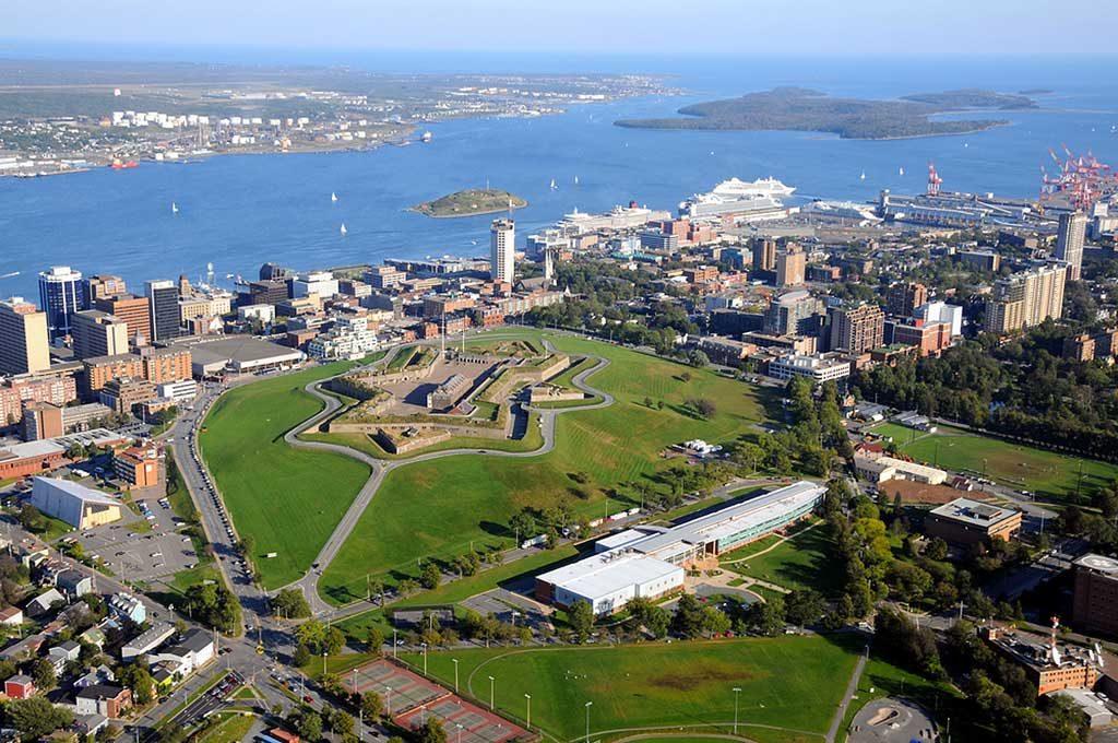 Citadelle d'Halifax, Canada