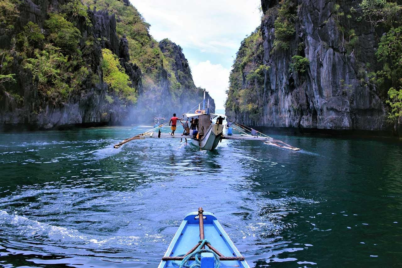 Croisière sauvage dans les Philippines