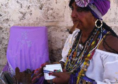 Tireuse de cartes, Cuba