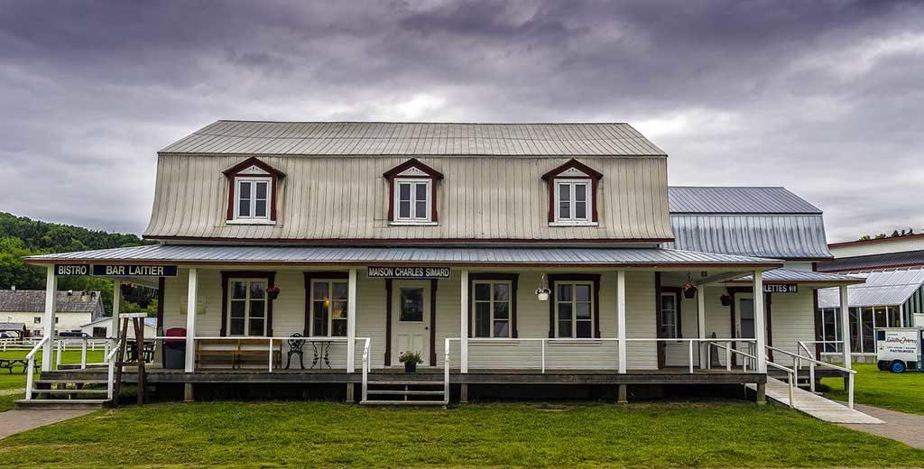 Economusée, Maison Charles Simard, Laiterie Charlevoix - Canada