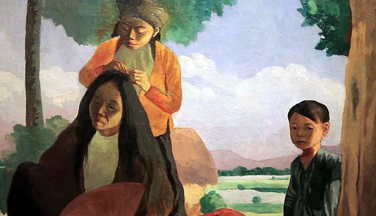 Exposition Du fleuve rouge au Mekong au Vietnam
