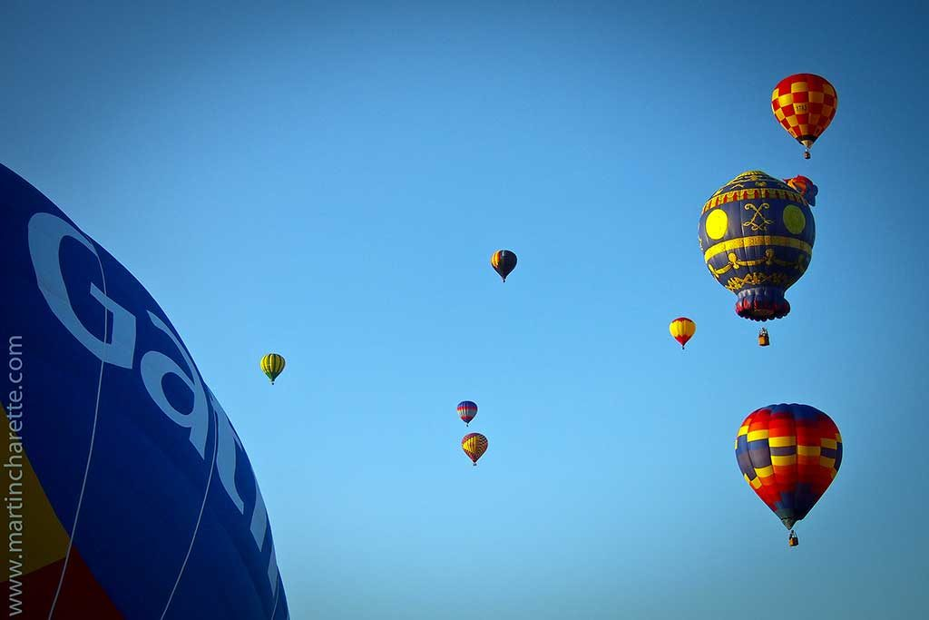 Festival de montgolfières de Gatineau, Québec, Canada