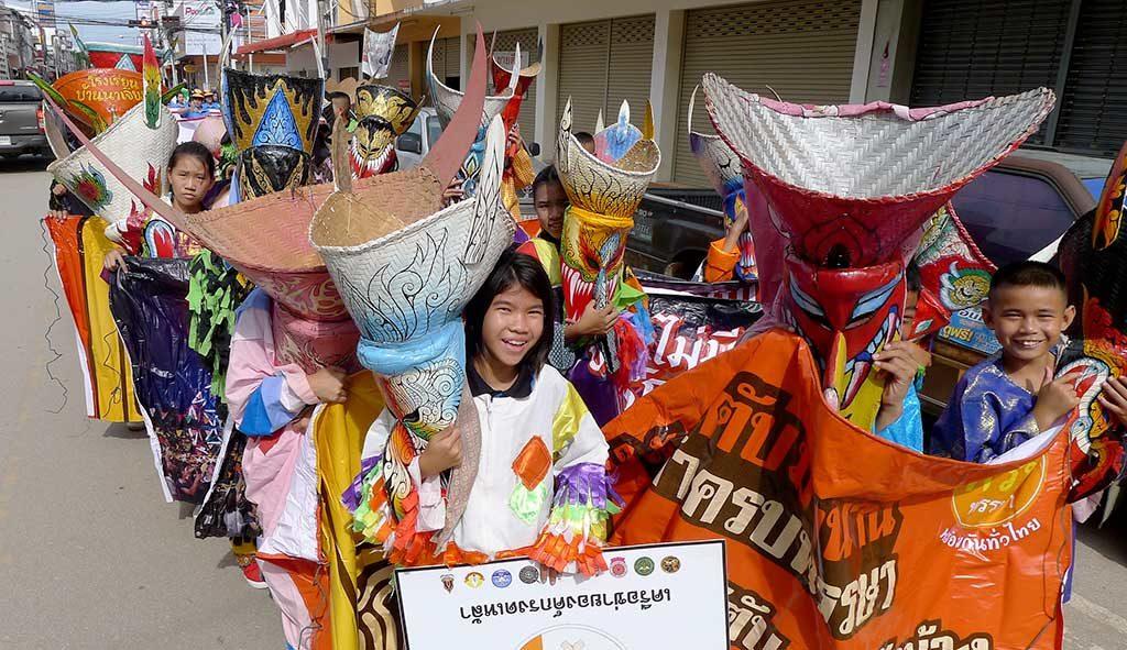 Festival de Phi Ta Khon, province du Loei, Thaïlande