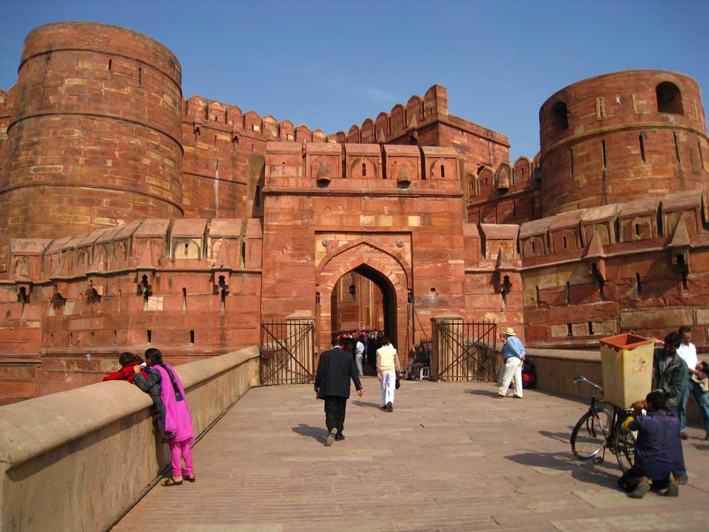 Agra, Le Fort Rouge - Inde