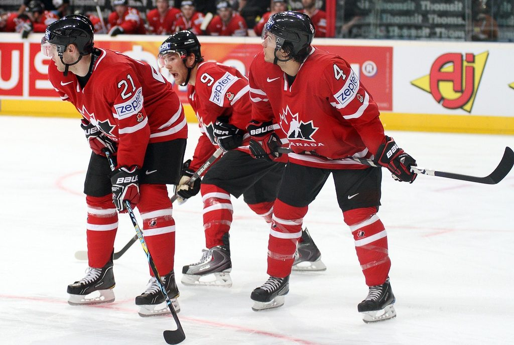 L'équipe Canadienne de hockey sur glace