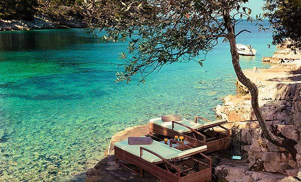 Little Green Bay Hotel, Hvar, Croatie