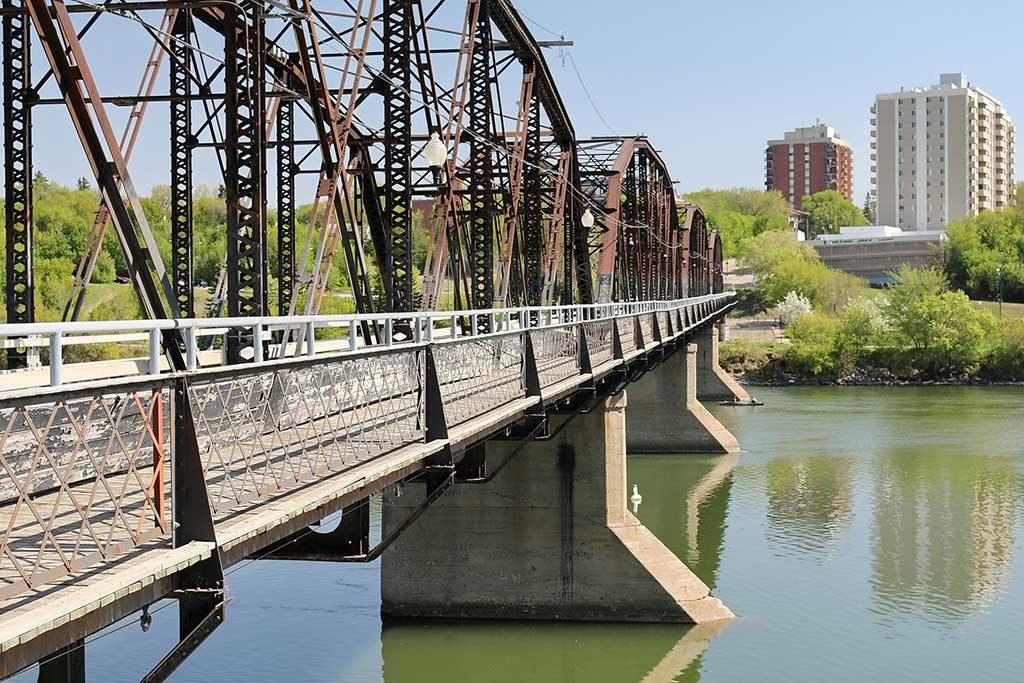 Iron Bridge, Saskatoon, Saskatchewan - Canada