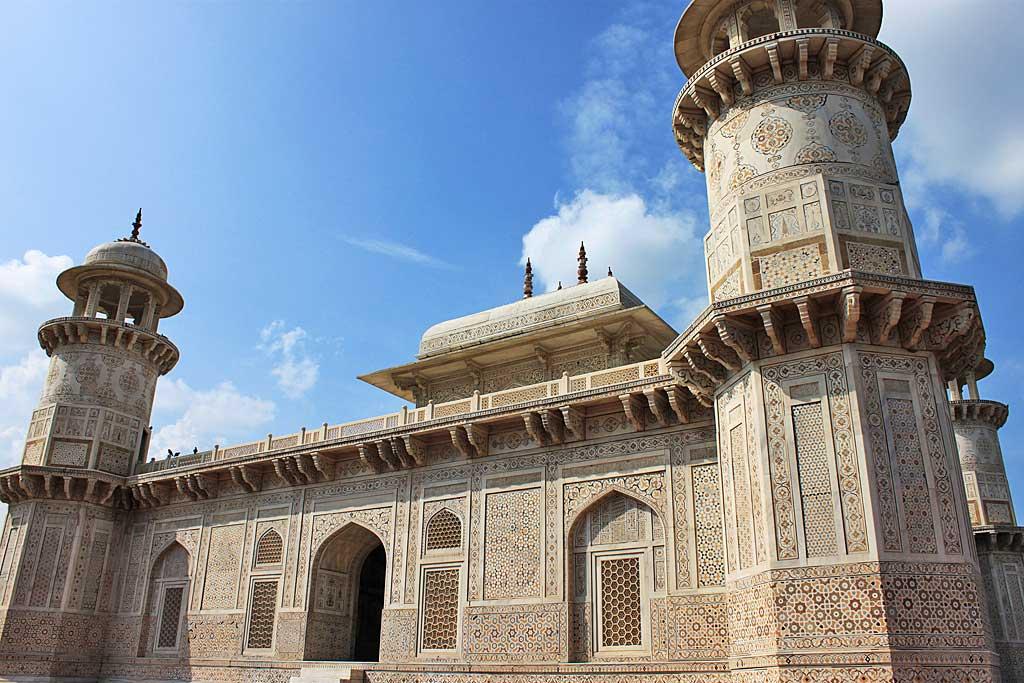 Le mausolée d'Itimâd-ud-Daulâ - Agra, Inde