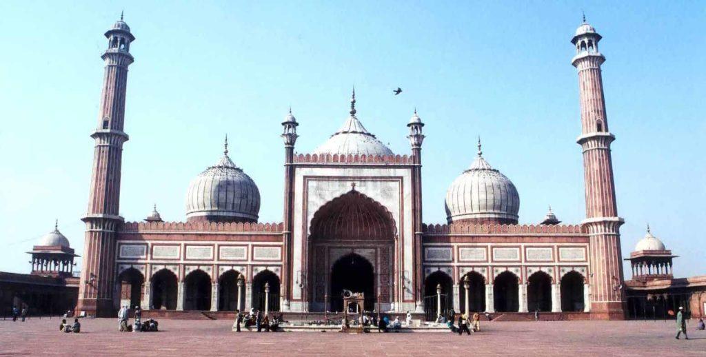 La mosquée Jama Masjid - Delhi, Inde