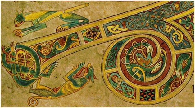 Livre de Kells, Trinity College, Dublin - Irlande
